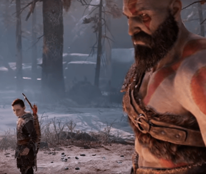 Atreus and Kratos