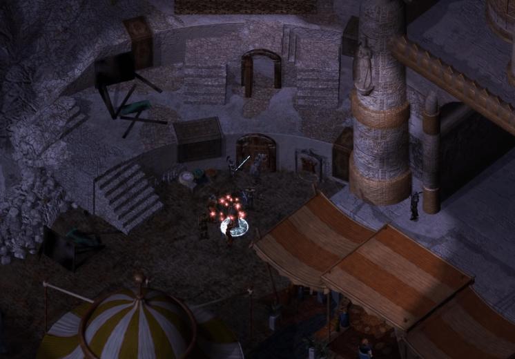 Baldur's Gate 2 Gameplay