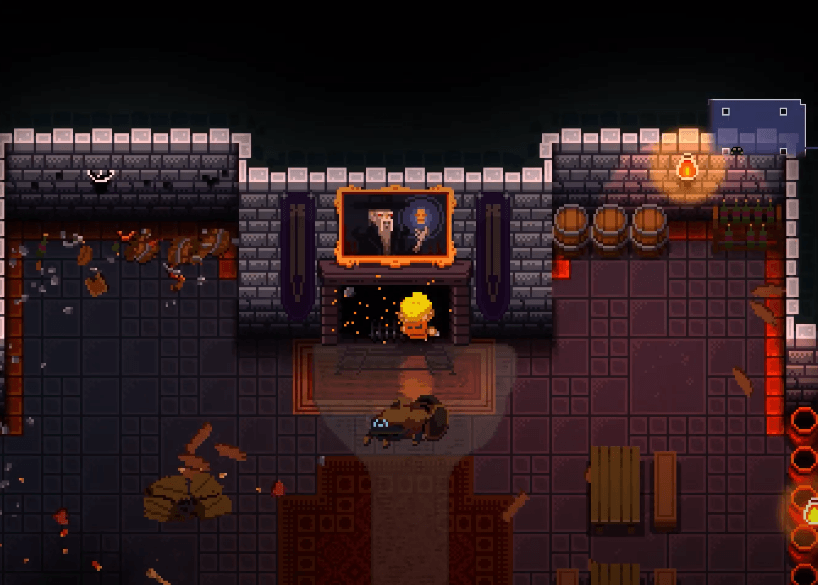 Fireplace Secret Room