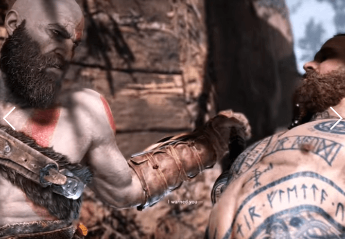 Kratos and Baldur