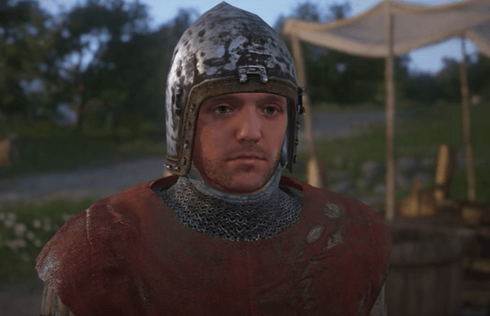 Clean Henry's clothes to improve Speech