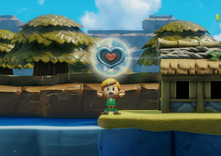 Fish to get Heart Pieces in Link's Awakening