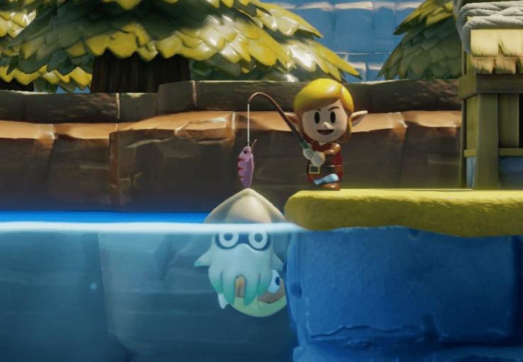 Link's Awakening - Catch the Blooper
