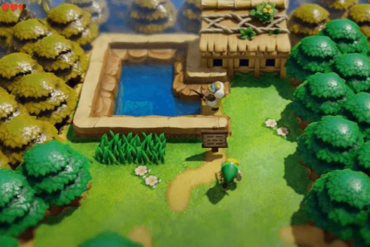 Link's Awakening Fishing Pond