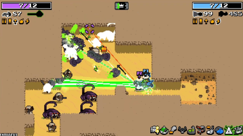 Nuclear Throne is often compared to Binding of Isaac and Gungeon