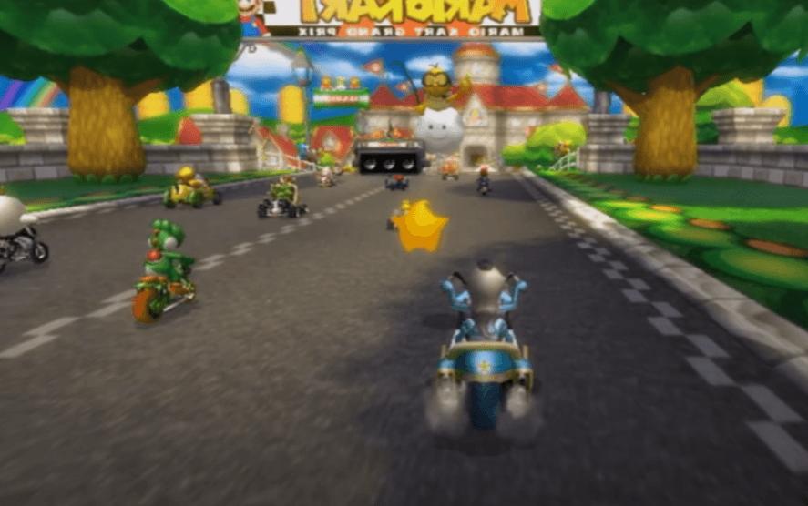 Rosalina is a heavyweight character in Mario Kart Wii