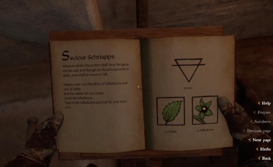 Saviour Schnapps Recipe