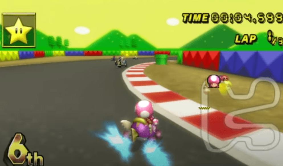 Toadette - Mario Kart Wii