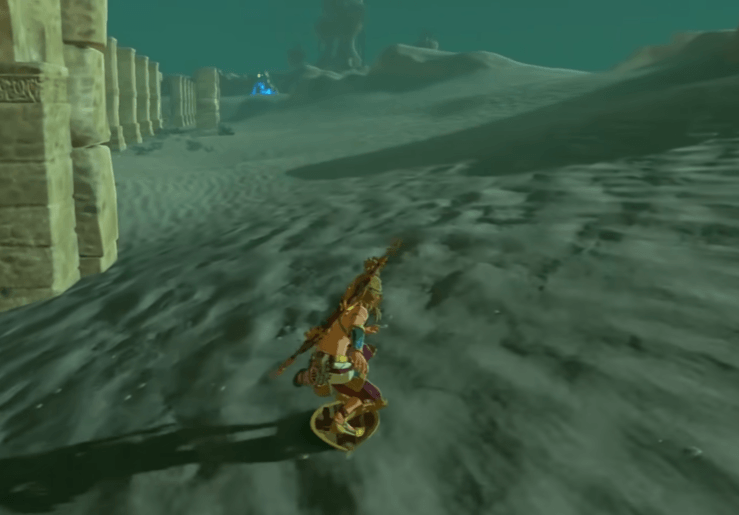 Different terrains can affect how fast you shield surf