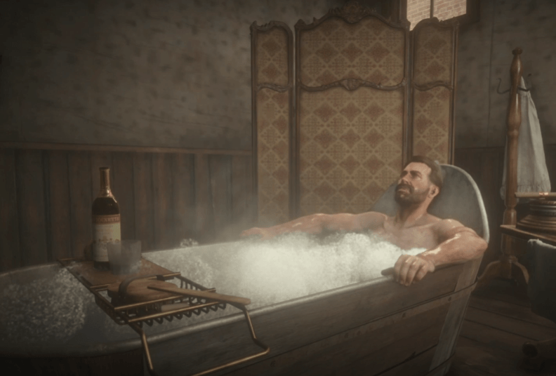 How to clean clothes in RDR2