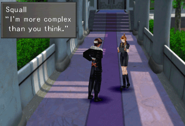 I'm more complex than you think - Squall