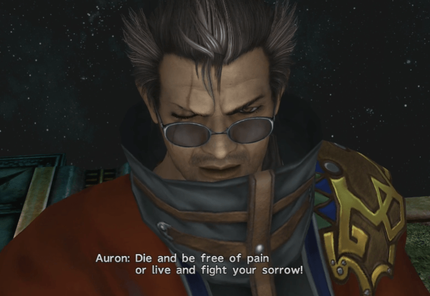 Now is the time to choose - Auron