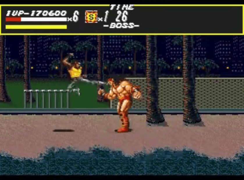 Abadede - Streets of Rage boss