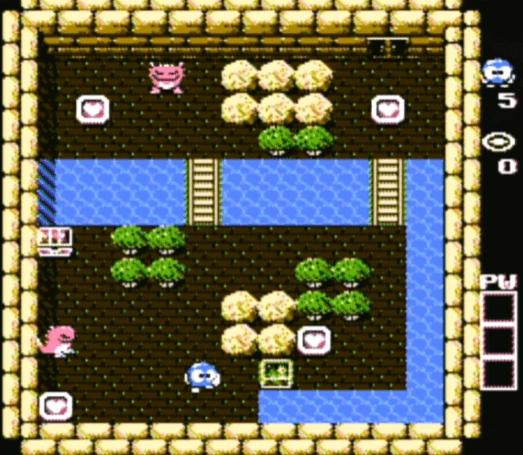 Adventures of Lolo NES gameplay