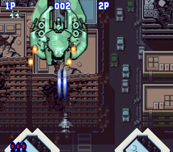 Aero Fighters SNES gameplay