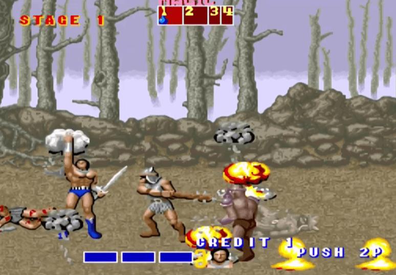 Ax Battler - Golden Axe