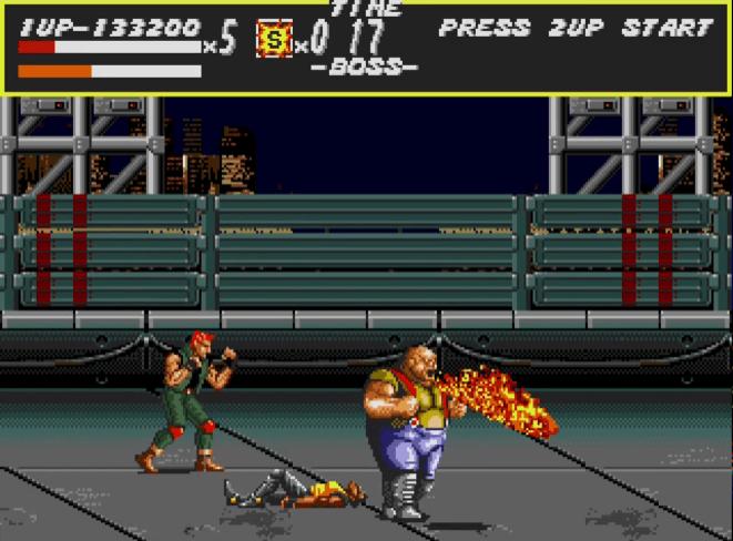 Bongo - Streets of Rage boss