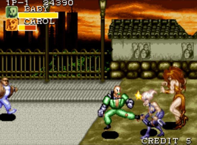 Captain Commando - SNES gameplay