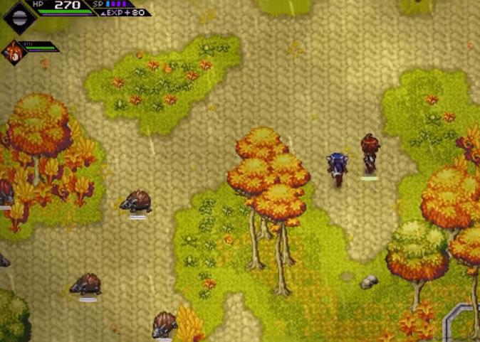 CrossCode PC gameplay