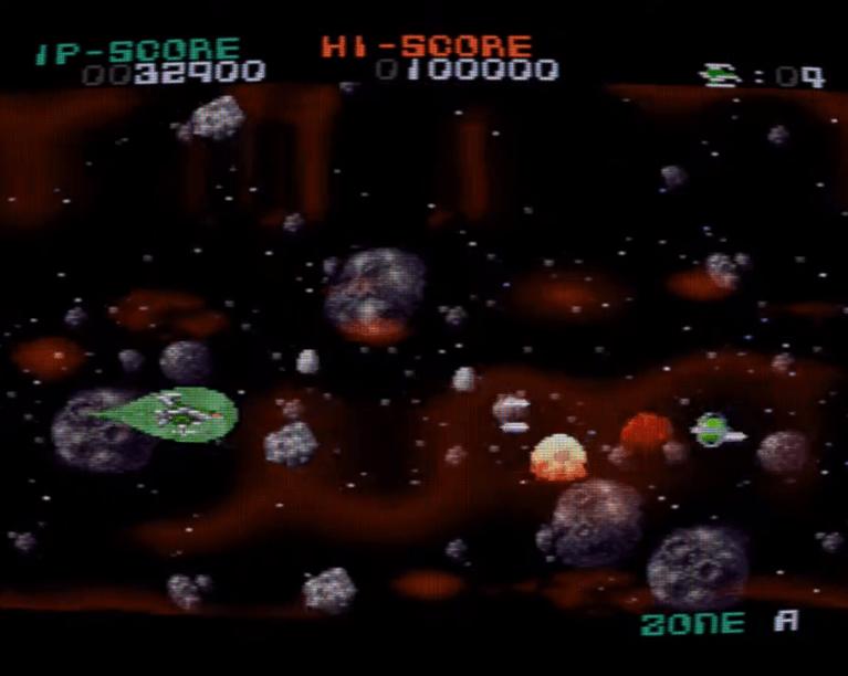 Darius Force SNES gameplay