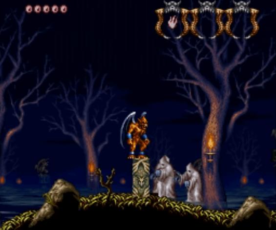 Demon's Crest SNES gameplay