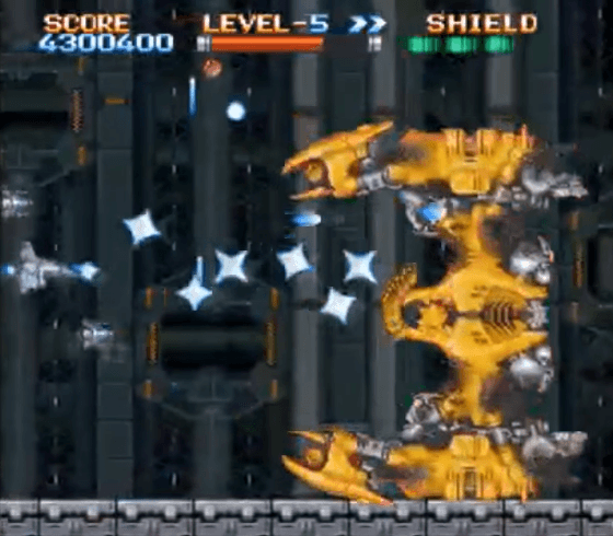 Earth Defence Force SNES gameplay