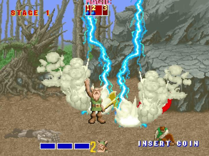 Gilius Thunderhead - Golden Axe