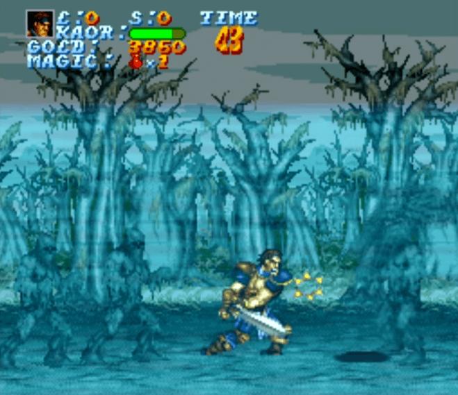 Legend - SNES gameplay