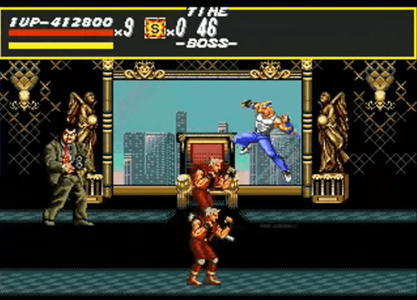 Mr. X - Streets of Rage Boss