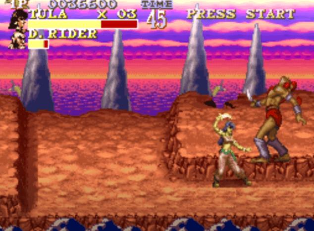 Pirates of Dark Water - SNES gameplay