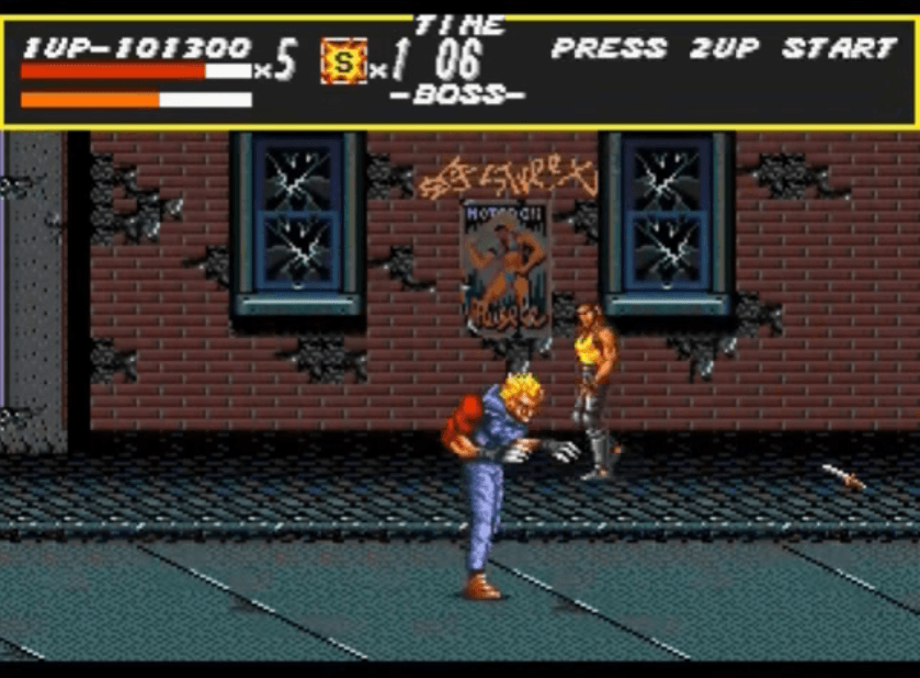 Souther - Streets of Rage boss