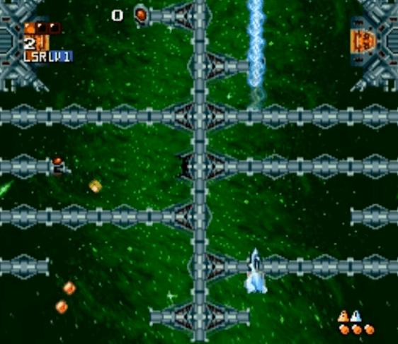 Super Aleste SNES gameplay