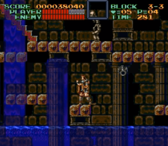 Super Castlevania IV SNES gameplay