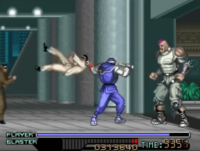The Ninja Warriors - SNES gameplay