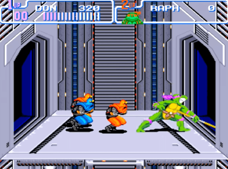 Turtles in Time - SNES gameplay