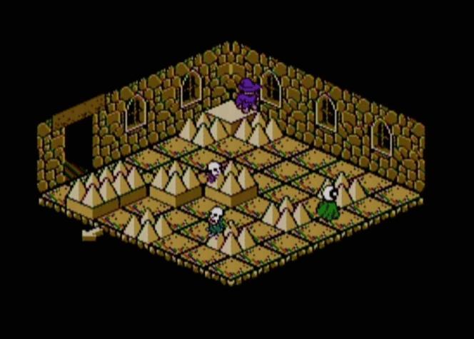Solstice NES gameplay