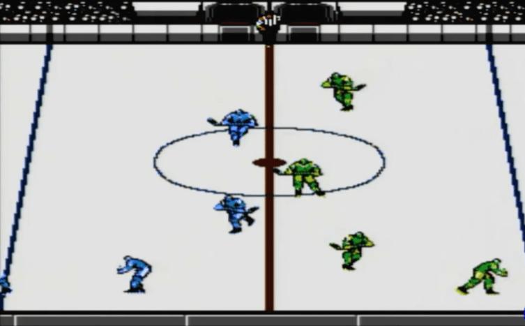 Blades of Steel NES gameplay