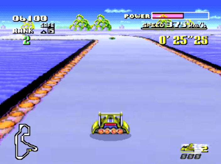 F-Zero SNES gameplay