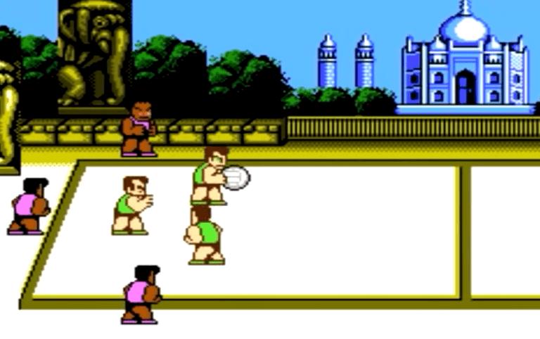 Super Dodge Ball NES Gameplay