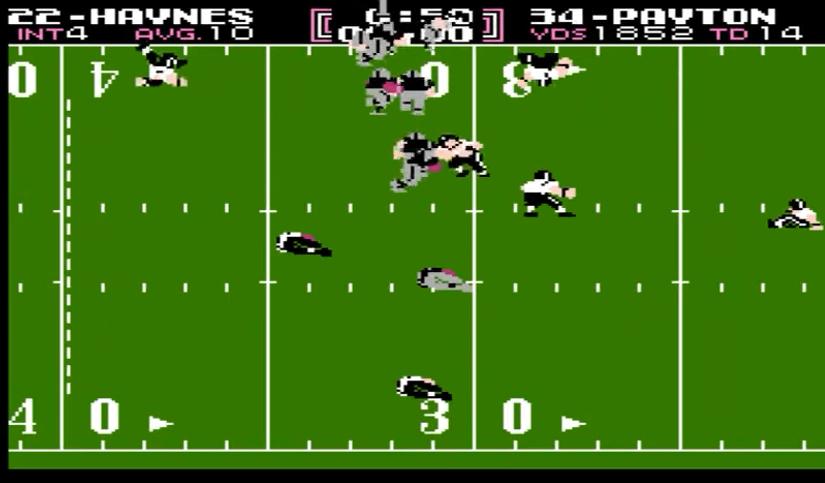 Tecmo Bowl NES gameplay