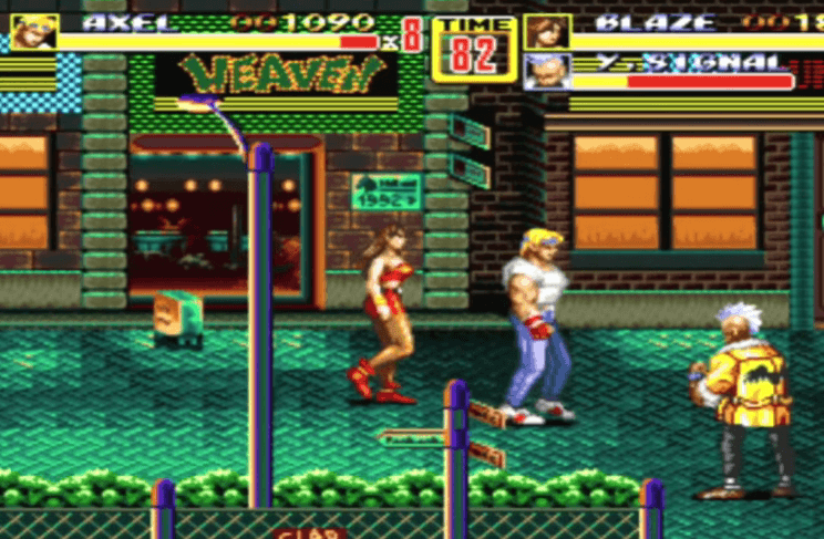 Axel and Blaze return in Streets of Rage 2
