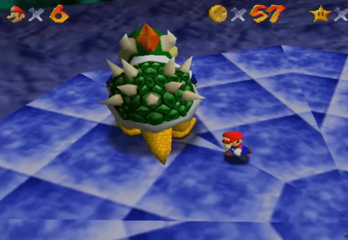 Bowser in the Dark World - Super Mario 64