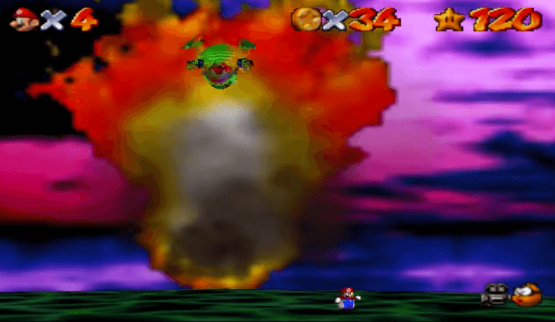 Bowser in the Sky - Super Mario 64