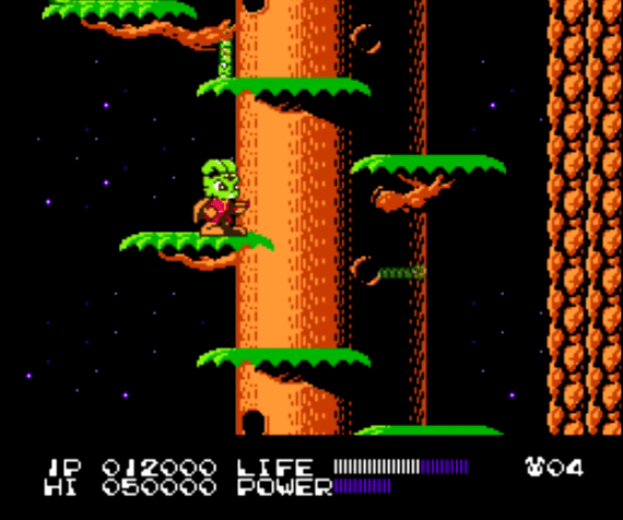 Bucky O'Hare NES gameplay