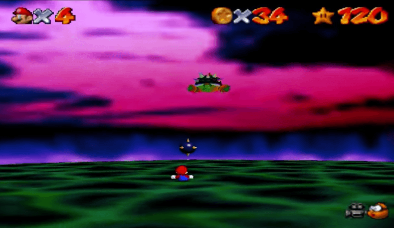 How to Beat Bowser in Super Mario 64