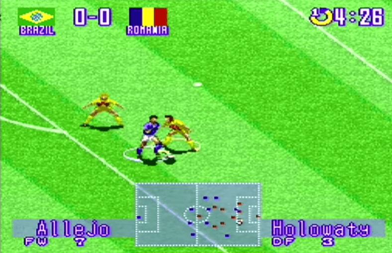 International Superstar Soccer Deluxe SNES Gameplay
