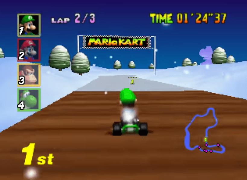 Mario Kart 64 - N64 Gameplay