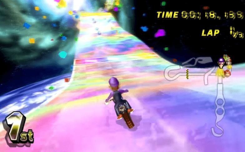 Rainbow Road Wii