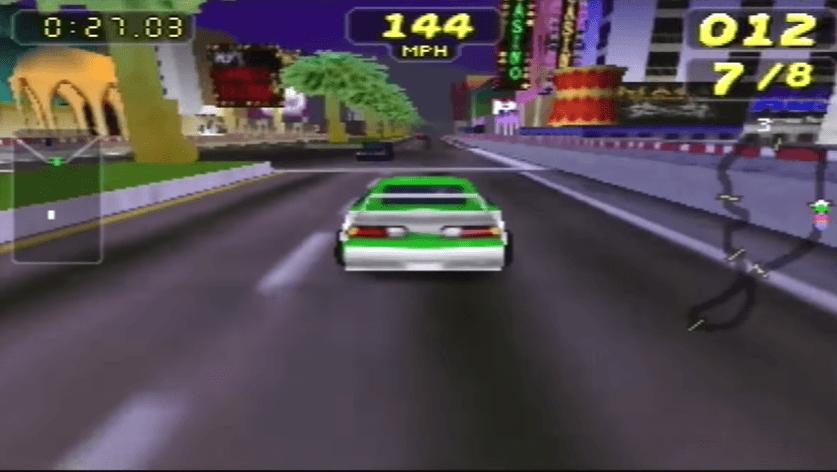 Rush 2 Extreme Racing USA - N64 Gameplay