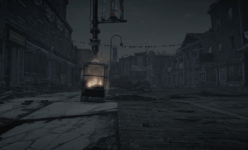 Some people like to wait until daylight to venture the Wasteland